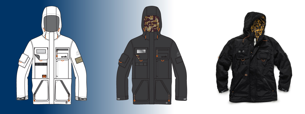 Scruffs tech jacket