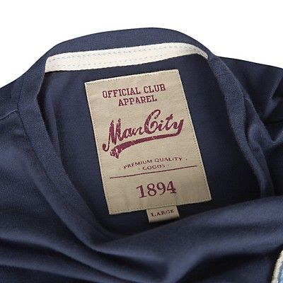 Manchester City Football Club back neck label