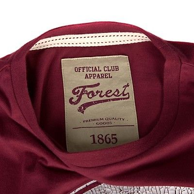 Nottingham forest football club model in jacket